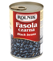 FASOLA CZARNA KONSERWOWA ROLNIK 425 ML