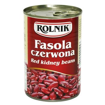 FASOLA CZERWONA 425 ML ROLNIK