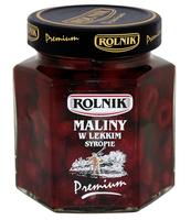 MALINY W LEKKIM SYROPIE 320 G ROLNIK