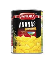 ANANAS KOSTKA W SYROPIE SANDRA 565G