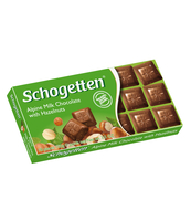 SCHOGETTEN ALPINE MILK WITH HAZELNUTS 100G