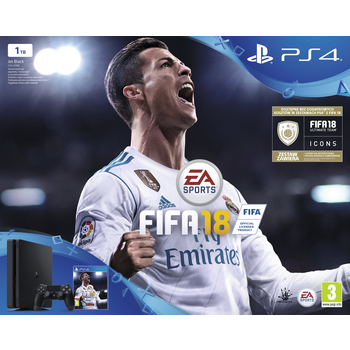KONSOLA SONY PLAYSTATION 4 SLIM 1TB + FIFA 18