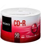 PŁYTY SONY CD-R 700MB.50CDQ80SB