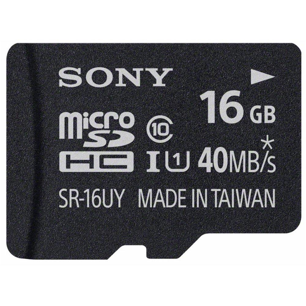 SONY KARTA MICRO 16GB SD + ADAPTERSR16UYA