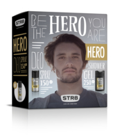 STR8 DEO 150ML + ŻEL 250ML HERO