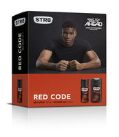 STR8 DEZODORANT 150 ML +ŻEL 250 ML RED CODE