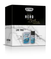 STR8 EDT 50 ML + DEO 150 ML LIVE TRUE