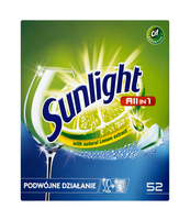 SUNLIGHT TABLETKI DO ZMYWAREK ALL IN ONE 52 SZT.