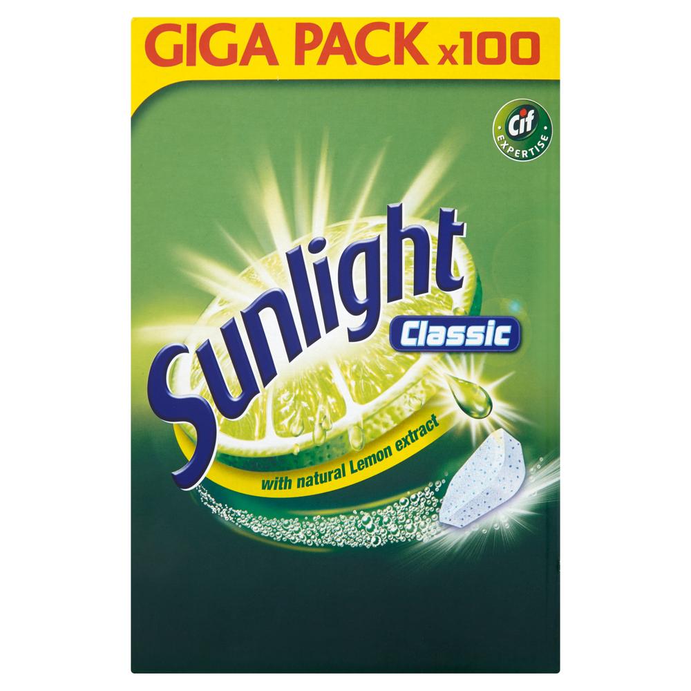 SUNLIGHT TABLETKI DO ZMYWAREK CLASSIC 100 SZT.