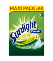 SUNLIGHT TABLETKI DO ZMYWAREK CLASSIC 66 SZT.