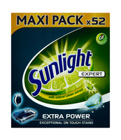 SUNLIGHT TABLETKI DO ZMYWAREK EXPERT 52 SZT.