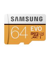 KARTA PAMIĘCI SAMSUNG MICROSD Z ADAPTEREM EVO 64GB