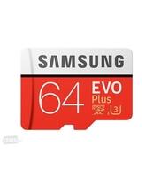 KARTA PAMIĘCI SAMSUNG MICROSD EVO PLUS 64GB CLASS10