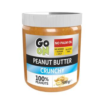 GO ON PEANUT BUTTER CRUNCHY 500G SANTE