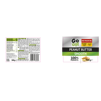 GO ON PEANUT BUTTER SMOOTH 500G SANTE