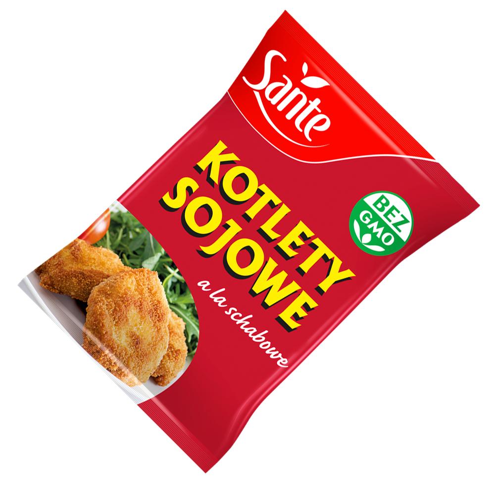 KOTLET SOJOWY A`LA SCHABOWY 100 G SANTE