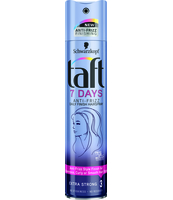 TAFT 7 DAYS ANTI-FRIZZ LAKIER DO WŁOSÓW 250ML