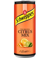 SCHWEPPES CITRUS MIX 250 ML