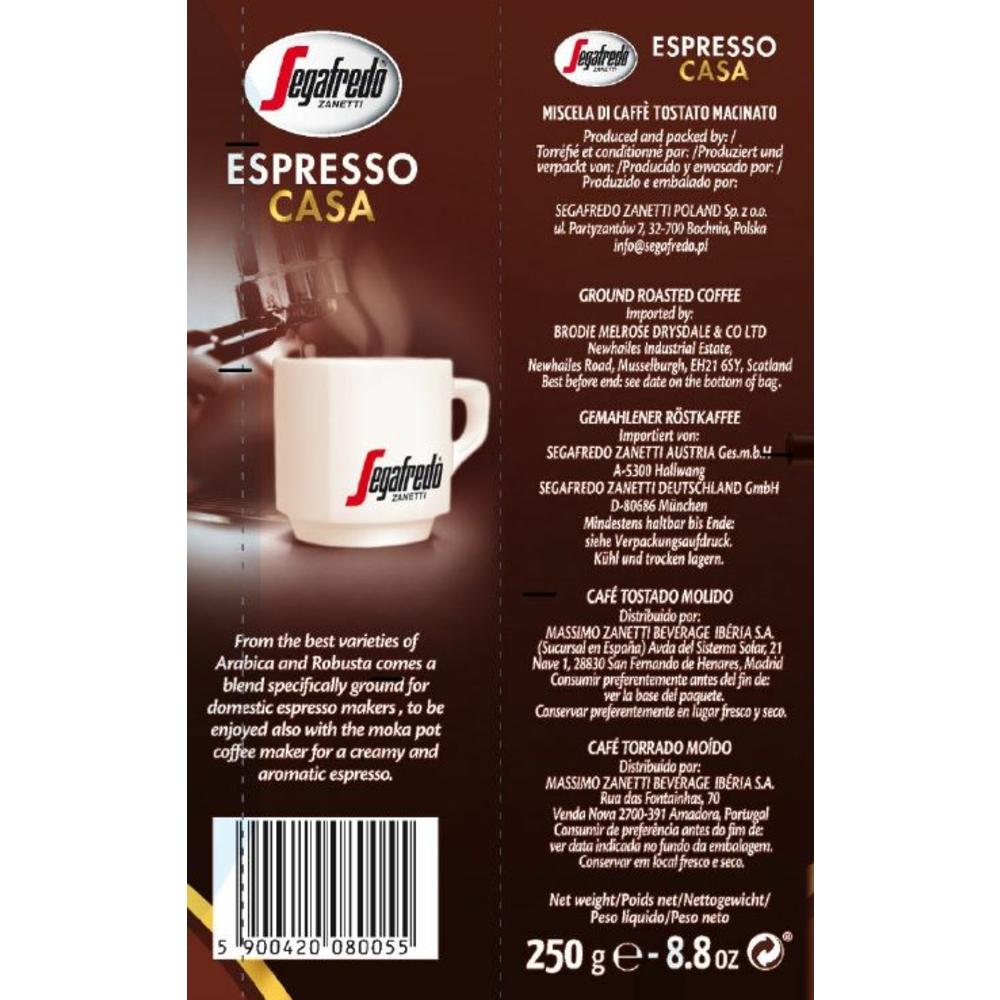 KAWA PALONA SEGAFREDO ESPRESSO CASA 250 G MIELONA
