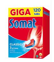 SOMAT CLASSIC TABLETKI DO ZMYWAREK 120SZT GIGA PACK