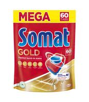 SOMAT GOLD TABLETKI DO ZMYWAREK 60 SZT DOYPACK