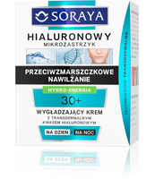 SORAYA HIALURONOWY MIKROZASTRZYK 30+ KREM NA DZIEŃ I NA NOC, 50ML