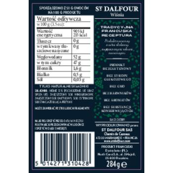ST. DALFOUR - OWOCOWA RAPSODIA WIŚNIA 284 G