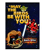 BRULION DEKORACYJNY ANGRY BIRDS STAR WARS