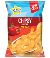 STAR CHIPS PAPRIKA 250G HC