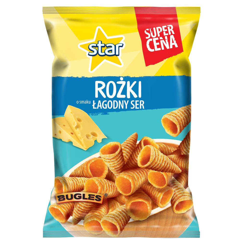 STAR ROŻKI ŁAGODNY SER 95G X 25