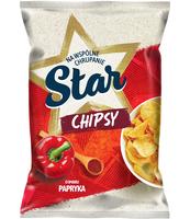 STAR CHIPS PŁASKIE 130G PAPRYKA