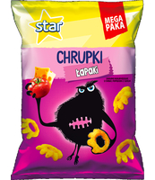 STAR CHRUPKI SER I POMIDOR 125G DISPLAY 14SZT
