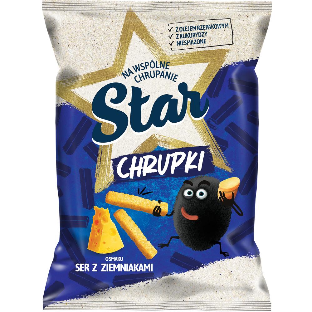 STAR CHRUPKI SER I ZIEMNIAK 125G