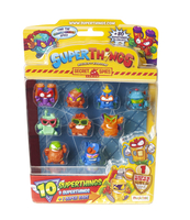 SUPERTHINGS BLISTER 10 FIGURKI