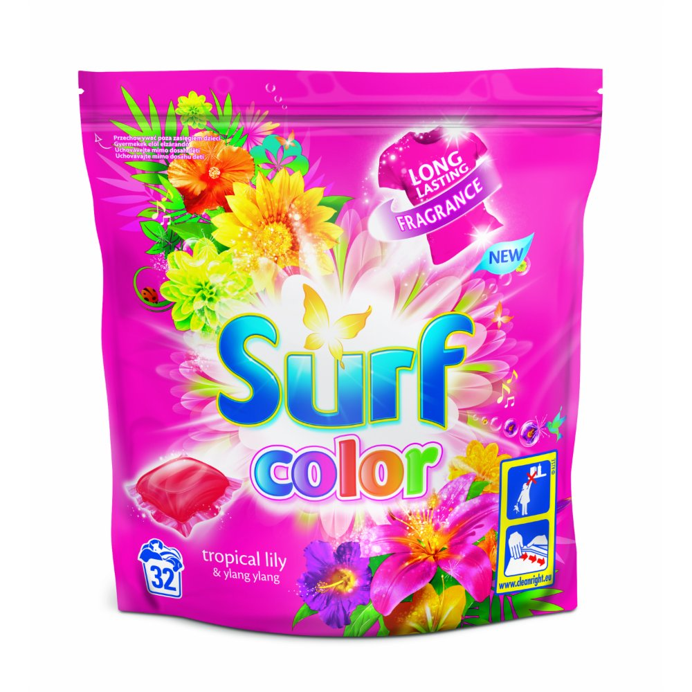 SURF KAPSUŁKI DO PRANIA COLOR 32 SZT.