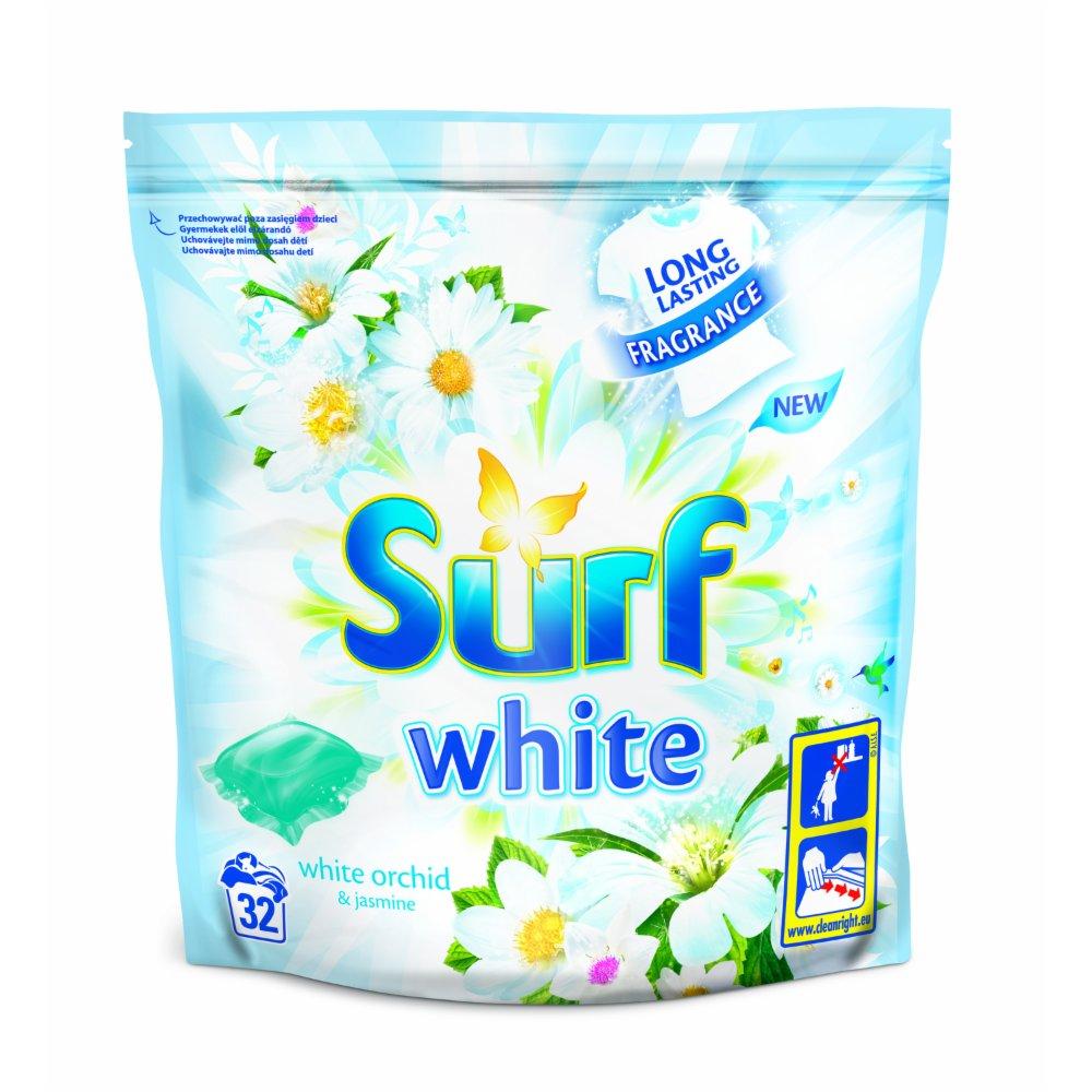 SURF KAPSUŁKI DO PRANIA WHITE 32 KAP