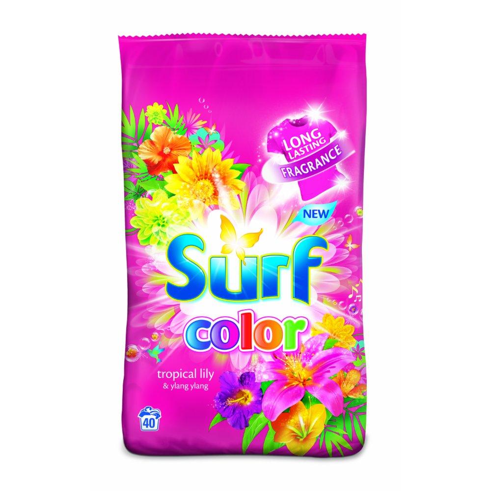 SURF PROSZEK DO PRANIA PINK 2.8KG (40 PRAŃ)