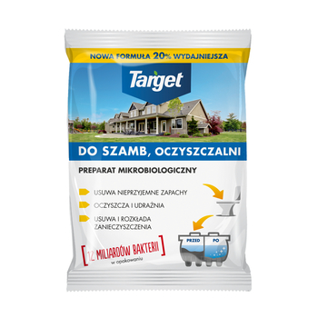 PREPARAT DO SZAMB I OCZYSZCZALNI TARGET 120G