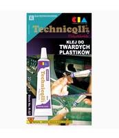 KLEJ DO TWARDYCH PLASTIKÓW TECHNICQLL 20ML
