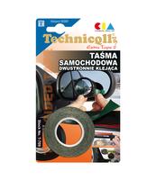 TAŚMA SAMOCHODOWA DWUSTRONNA TECHNICQLL 1,5M/19MM