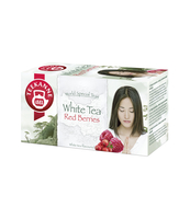 HERBATA BIAŁA TEEKANNE WHITE TEA RED BERRIES 20 TOREBEK X 1,25G