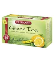 HERBATA ZIELONA TEEKANNE GREEN TEA LEMON 40 TOREBEK X 1,65G
