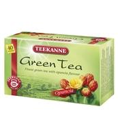 HERBATA ZIELONA TEEKNNE GREEN TEA OPUNCJA 40 TOREBEK X 1,65G