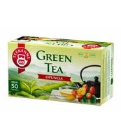HERBATA ZIELONA TEEKNNE GREEN TEA OPUNCJA 50 TOREBEK X 1,65G