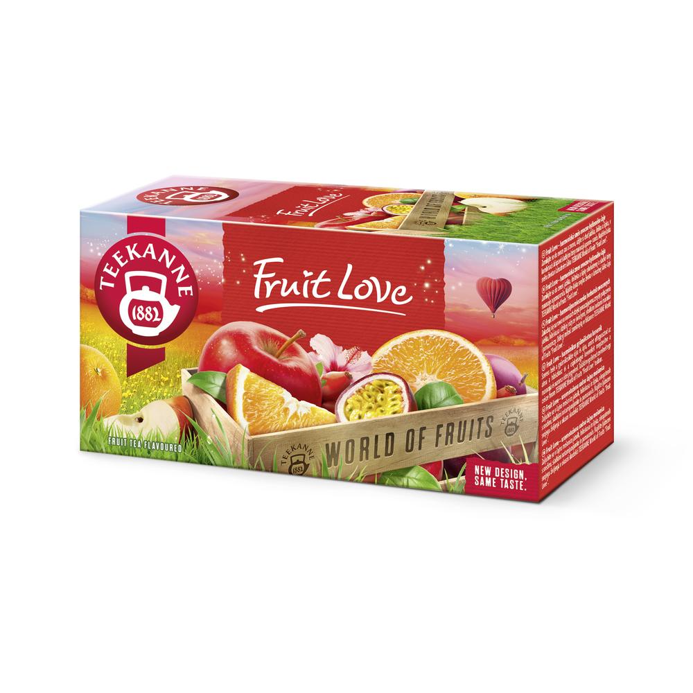 HERBATKA OWOCOWA TEEKANNE FRUIT LOVE 20 X 2,25G