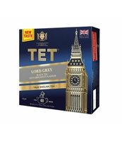 TET MIESZANKA HERBAT LORD GREY BLACK TEA 40 TOREBEK X2G
