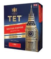 TET MIESZNKA BRITISH EMPIRE BLACK TEA 100 TOREBEK X 2G