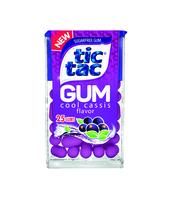 TIC TAC GUM COOL CASSIS 12,1G