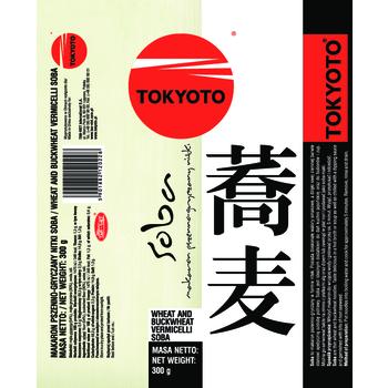 TOKYOTO MAKARON PSZENNO-GRYCZANY NITKI 300G SOBA