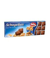 TRUMPF SCHOGETTEN MILK WITH PEANUTS 150G